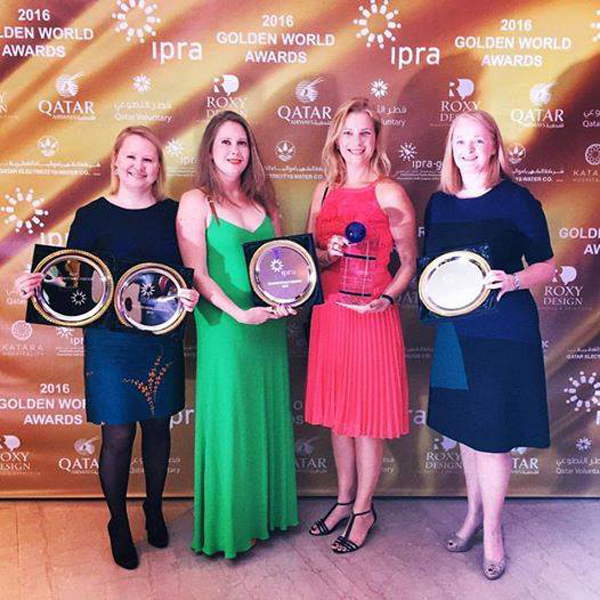 FleishmanHillard Vanguard получил две награды IPRA Golden World Awards.